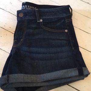 Jean shorts super stretch